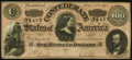 Confederate Notes:1864 Issues, T65 $100 1864 PF-1 Cr. 491. About Uncirculated.. ...