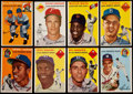 Baseball Cards:Lots, 1954 Topps Baseball Collection (100) Including Hank Aaron Rookie!...