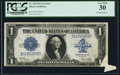 Error Notes:Large Size Errors, Fr. 238 $1 1923 Silver Certificate PCGS Very Fine 30.. ...