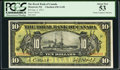 Canadian Currency, Montreal, PQ- The Royal Bank of Canada $10 2.1.1913 Ch. # 630-12-08PCGS About New 53.. ...