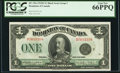 Canadian Currency, DC-25n $1 2.7.1923 PCGS Gem New 66PPQ.. ...