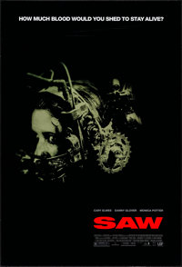 "Saw & Other Lot (Lions Gate, 2004). One Sheets (2) (27"" X 40"" & 27"" X 41"") DS. Horro..."