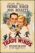 """Movie Posters:Mystery, Trade Winds (United Artists, 1938). One Sheet (27"""" X 41""""). Mystery.. ..."""