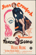 "Movie Posters:Romance, Torch Song (MGM, 1953). One Sheet (27"" X 41""). Romance.. ..."