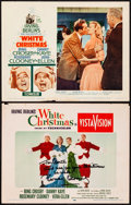 "Movie Posters:Musical, White Christmas (Paramount, 1954/R-1961). Autographed Lobby Card & Lobby Card (11"" X 14""). Musical.. ... (Total: 2 Items)"