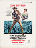 """Movie Posters:Western, Two Mules for Sister Sara (Universal, 1970) Rolled, Fine/Very Fine. Poster (30"""" X 40""""). Western...."""
