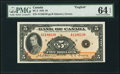 Canadian Currency, BC-5 $5 1935 PMG Choice Uncirculated 64 EPQ. A...