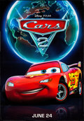 """Movie Posters:Animation, Cars 2 (Walt Disney Pictures, 2011). Bus Shelters (2) (approx 47"""" X 68.5"""") DS Advance 2 Styles. Animation.. ... (Total: 2 Items)"""