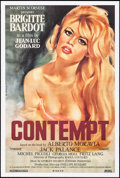 """Movie Posters:Foreign, Le Mepris (Canal, R-2000s). One Sheet (27"""" X 40"""") Gilbert Allard Artwork. Alternate Title: Contempt. Foreign.. ..."""