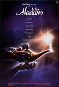 "Movie Posters:Animation, Aladdin (Buena Vista, 1992). Rolled, Very Fine. One Sheets (2) (27"" X 41"" & 27"" X 40"") DS Advance, John Alvin Artwork & DS R... (Total: 2 Items)"