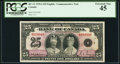 Canadian Currency, BC-11 $25 6.5.1935 Commemorative PCGS Extremely Fine 45.. ...