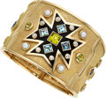 Estate Jewelry:Bracelets, Diamond, Multi-Stone, Cultured Pearl, Enamel, Gold Bracelet,Verdura. ...