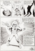 Original Comic Art:Panel Pages, Steve Ditko Amazing Spider-Man #18 Story Page 22 OriginalArt (Marvel, 1964)....