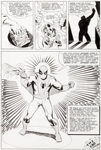 Steve Ditko Amazing Spider-Man #18 Story Page 22 Original Art (Marvel, 1964)