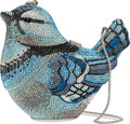 "Luxury Accessories:Bags, Judith Leiber Blue Jay Minaudiere. Condition: 1. 5"" Width x 4.5"" Height x 3"" Depth. ..."