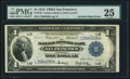 Fr. 743 $1 1918 Federal Reserve Bank Note PMG Very Fine 25