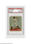 Baseball Cards:Singles (1930-1939), 1933 Goudey Lou Gehrig #160 PSA PR-FR 1. Authentic card from thisBig Three set....