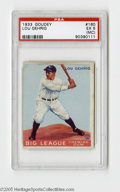 Baseball Cards:Singles (1930-1939), 1933 Goudey Lou Gehrig #160 PSA EX 5 (MC). Strong card from thisBig Three set....