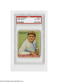 Baseball Cards:Singles (1930-1939), 1933 Goudey Babe Ruth #181 PSA PR-FR 1. Respectable card from this Big Three set....