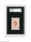 Baseball Cards:Singles (1930-1939), 1933 Rittenhouse Candy E285 Babe Ruth Ace of Spades SGC VG/EX 50.Strong representation of this important candy card....