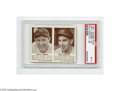 Baseball Cards:Singles (1940-1949), 1941 Double Play Lefty Gomez-61 Phil Rizzuto-62PSA EX 5. The Hallof Fame Yankee teammates are featured side by side on this...