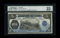 Canadian Currency: , DC-21g $5 1912.. ...
