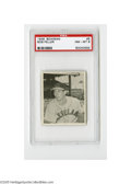Baseball Cards:Singles (1940-1949), 1948 Bowman Bob Feller #5 PSA NM-MT 8. High grade example of this Hall of Famer....