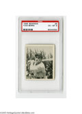 Baseball Cards:Singles (1940-1949), 1948 Bowman Yogi Berra #6 PSA EX-MT 6. Fine example of this YankeeHall of Famer's rookie issue....