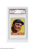 Baseball Cards:Singles (1940-1949), 1948 Leaf Johnny Mize #46 PSA EX-MT 6. Strong example from this popular set....