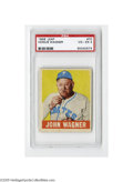 Baseball Cards:Singles (1940-1949), 1948 Leaf Honus Wagner #70 PSA VG-EX 4. Strong example from this popular set....