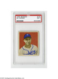 Baseball Cards:Singles (1940-1949), 1949 Bowman Gil Hodges #100 PSA NM 7. Strong example from thispopular set....