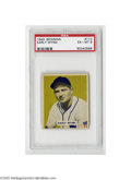 Baseball Cards:Singles (1940-1949), 1949 Bowman Early Wynn #110 PSA EX-MT 6. Strong example from this popular set....