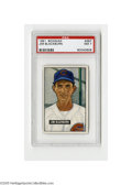 Baseball Cards:Singles (1950-1959), 1951 Bowman Jim Blackburn #267 PSA NM 7. Strong example from this popular issue....