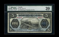 Canadian Currency: , DC-21d $5 1912. . ...