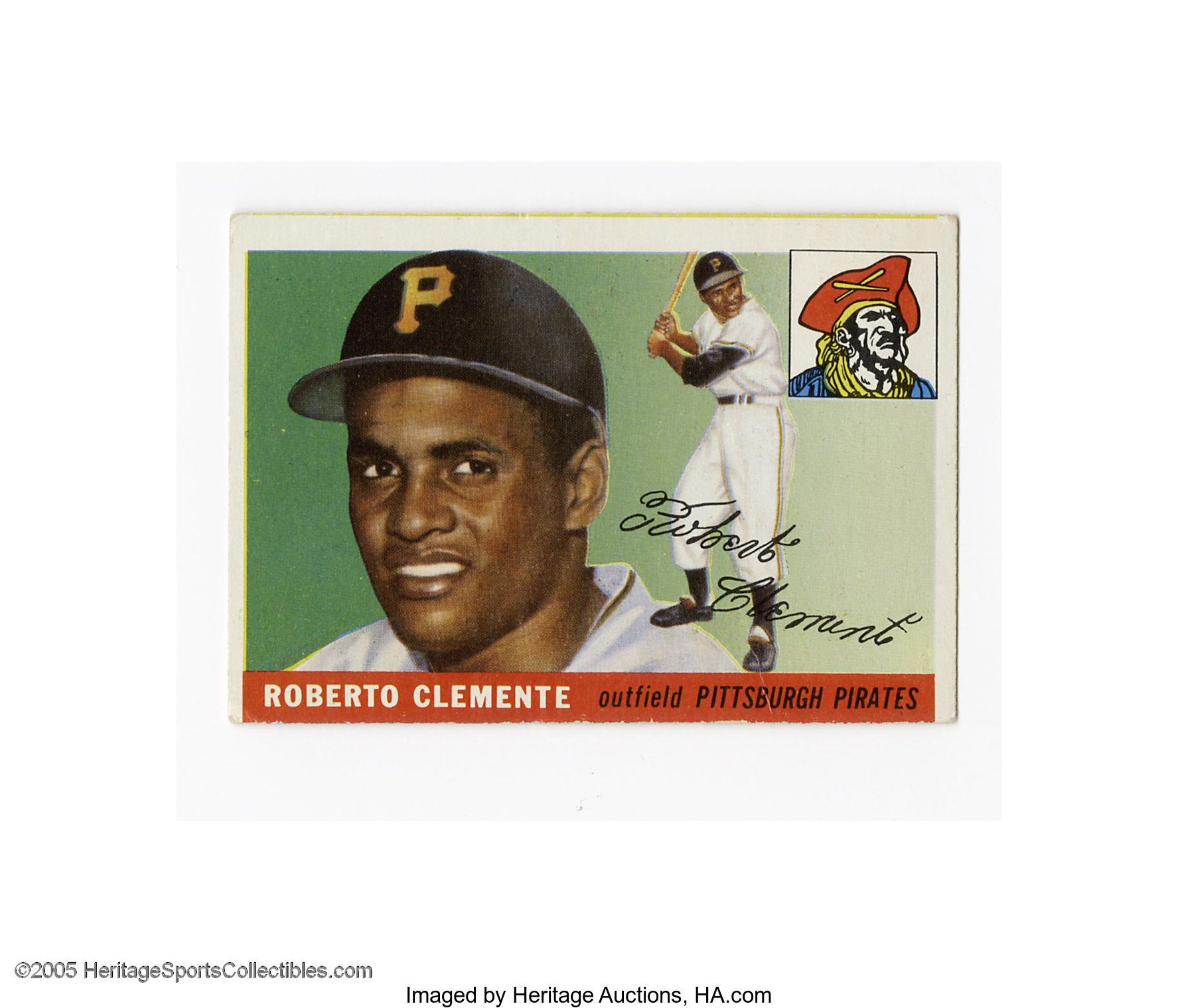 1955 Topps Roberto Clemente 164 G Vg Example Of This