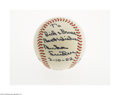 Autographs:Baseballs, 1982 Duke Snider Single Signed Baseball from The Ricky and BruceCollection. Flawless 10/10 inscription on the side panel o...