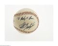 Autographs:Baseballs, 1970's Carl Yastrzemski Single Signed Baseball from The Ricky andBruce Collection. Flawless 10/10 inscription on the side ...