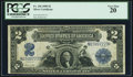 Large Size:Silver Certificates, Fr. 256 $2 1899 Silver Certificate PCGS Very Fine 20.. ...