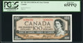 Canadian Currency, BC-35b $100 1954 Devil's Face PCGS Gem New 65PPQ.. ...