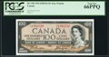 Canadian Currency, BC-35b $100 1954 Devil's Face PCGS Gem New 66PPQ.. ...