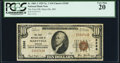 National Bank Notes:Missouri, Maryville, MO - $10 1929 Ty. 1 The First NB Ch. # 3268 PCGS VeryFine 20.. ...