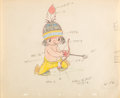 Animation Art:Color Model, Little Hiawatha Color Model Animation Drawing (Walt Disney,1937)....