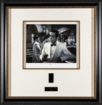 """Casablanca (Turner Entertainment, 1990s). Framed Numbered Limited Edition Serigraph (24"""" X 24.75""""). Academy Aw..."""