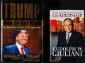 """Movie Posters:Miscellaneous, How to Get Rich by Donald Trump & Other Lot (Random House, 2004). Autographed Hardcover Book (244 Pages, 6.5"""" X 9.25"""") & Aut... (Total: 2 Items)"""