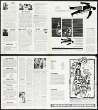 "Anatomy of a Murder & Other Lot (Columbia, 1959). Very Fine. Uncut Pressbooks (9) (Multiple Pages, 10.75"" X..."