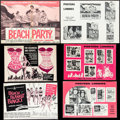 "Movie Posters:Comedy, Beach Party & Others Lot (American International, 1963). Cut Pressbook (18 Pages, 18"" X 13"") & Uncut Pressbooks (4) (Multipl... (Total: 5 Items)"