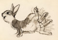 Animation Art:Concept Art, Bambi Thumper Concept Drawing Original Art by Marc Davis (Walt Disney, 1942)....