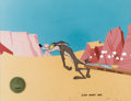Animation Art:Production Cel, Chariots of Fur Wile E. Coyote Production Cel (WarnerBrothers, 1994)....