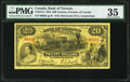 Canadian Currency, Toronto, ON- Bank of Toronto $20 2.1.1935 Ch. # 715-24-14 PMGChoice Very Fine 35.. ...