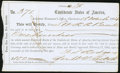Confederate Notes:Group Lots, Interim Depository Receipt Charleston, (SC)- $100 Mar. 18, 1864 Tremmel SC-37B Choice About Uncirculated.. ...